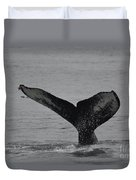 Whale Tail Duvet Cover