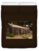 Whalers Cabin Duvet Cover by Barbara Snyder