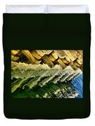 Wharf Reflections Duvet Cover