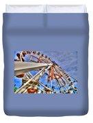 Wharf Wheel Duvet Cover