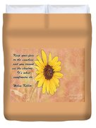 What Sunflowers Do Duvet Cover