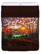 What The Cow Saw Duvet Cover