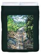 What's Around The Bend? Duvet Cover