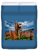 What's So Funny Duvet Cover