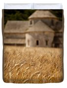 Wheat At The Abbaye Duvet Cover