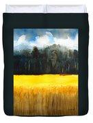 Wheat Field 1 Duvet Cover