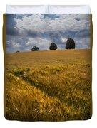 Wheat Fields Duvet Cover