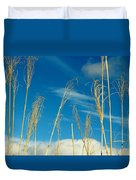 Wheat In The Sky Duvet Cover