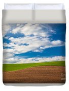Wheat Wave Duvet Cover
