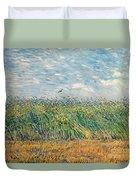 Wheatfield With Lark Duvet Cover