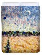 Wheatfields At Dusk Duvet Cover