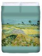 Wheatfields Near Auvers-sur-oise Duvet Cover