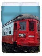 Wheaton Express Duvet Cover