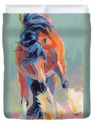Whee Duvet Cover by Kimberly Santini