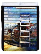 Wheel And Ladder Duvet Cover