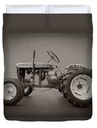 Wheel Horse Vintage Duvet Cover