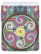 Wheel Of Celtia Duvet Cover