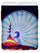Wheel Of Light Work B Duvet Cover