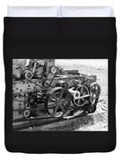 Wheels Gears And Cogs Duvet Cover