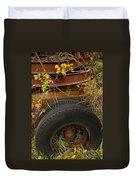 Wheels Of Autumn Duvet Cover