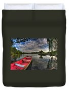 When All You Hear Is The Nature Around You...v4 Duvet Cover