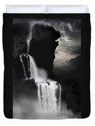 When Darkness Falls Duvet Cover