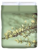 When Gorse Flowers Sing Their Melody Duvet Cover