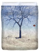 When The Last Leaf Falls... Duvet Cover by John Edwards