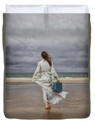 When The Wind Blows Away My Dreams Duvet Cover