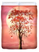 Where Angels Bloom Duvet Cover