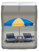 Where Are All The Beach Bums? Duvet Cover