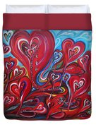 Where Broken Hearts Go Duvet Cover