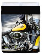 Where Do You Hang A Harley Cap Duvet Cover