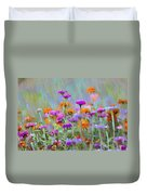 Where Have All The Flowers Gone Duvet Cover by Bill Cannon