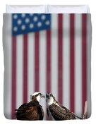 Where Ospreys Dare Duvet Cover