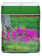 Where Petunia Grows Duvet Cover