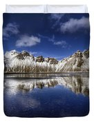 Where The Mountains Meet The Sky Duvet Cover