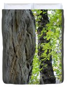 Where The Tree Meets The Stone Duvet Cover