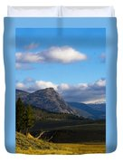 Where The Valley Leads Duvet Cover