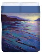 Where The Whales Play 3 Duvet Cover