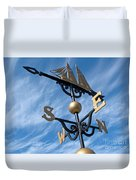 Where The Wind Blows Duvet Cover