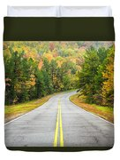 Where This Road Will Take You - Talimena Scenic Highway - Oklahoma - Arkansas Duvet Cover