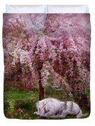 Where Unicorn's Dream Duvet Cover