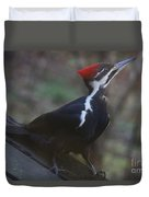 Which Way Is The Suet? Duvet Cover