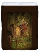 Which Way To The Outhouse? Duvet Cover
