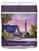 Whidbey Getaway Duvet Cover