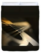 While My Guitar Gently Weeps Duvet Cover