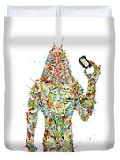 While My Smartphone Gently Weeps Duvet Cover