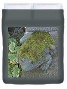 Whimsical Frog Duvet Cover