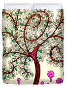 Whimsy Tree Duvet Cover
